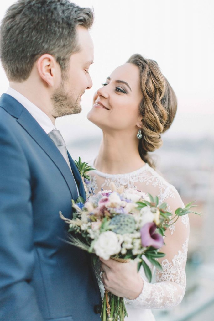 busra ibrahim weddingstory kocpera22 683x1024 - Busra & İbrahim // Dugun Hikayesi - Koc Pera by Divan, Istanbul