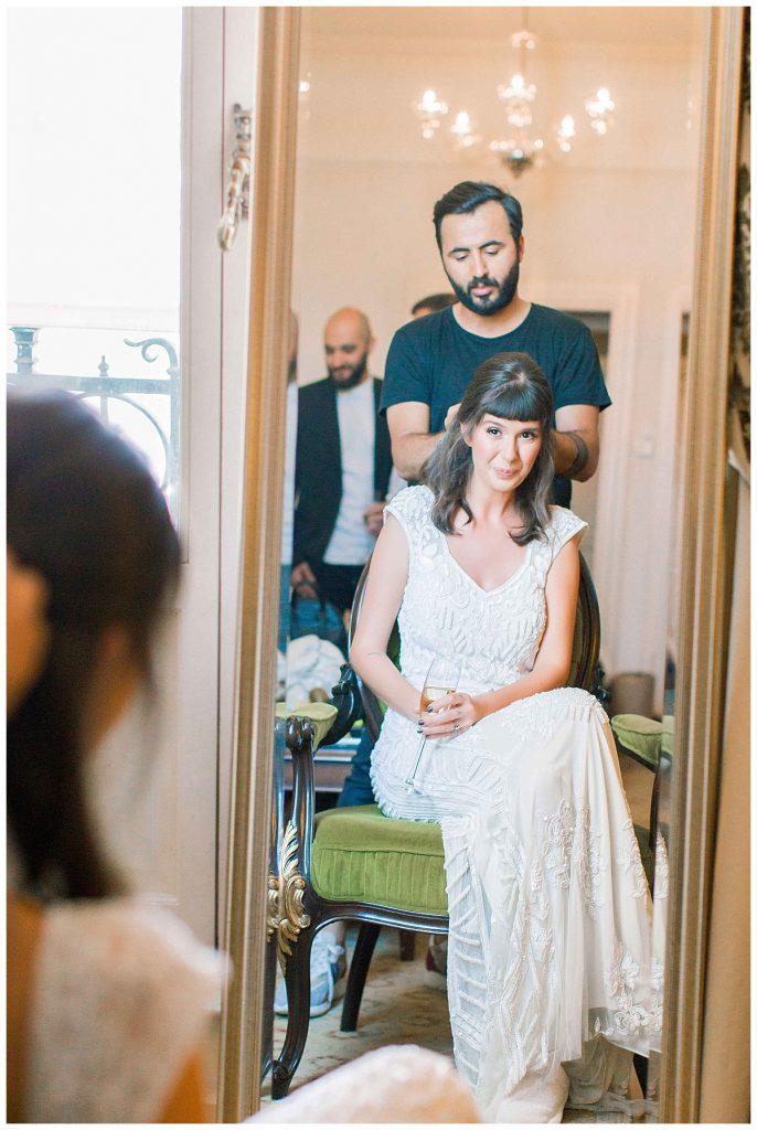 pinar cagri perapalacehotel weddingday 34 686x1024 - Pınar & Çagrı // Pera Palace Hotel Wedding Day
