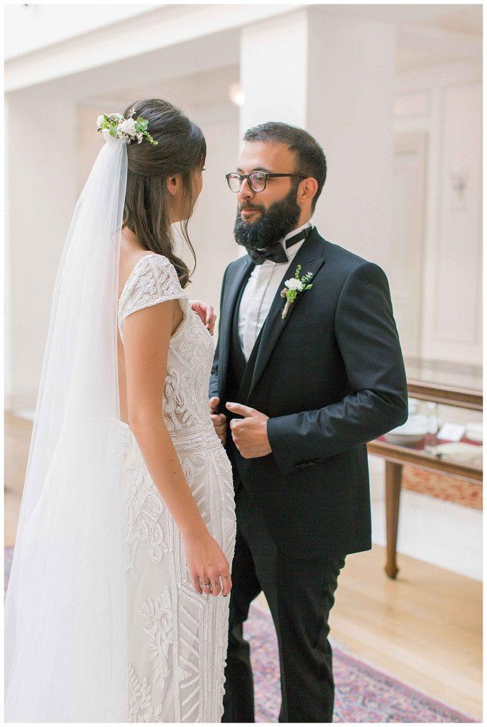 pinar cagri perapalacehotel weddingday 49 686x1024 - Pınar & Çagrı // Pera Palace Hotel Wedding Day