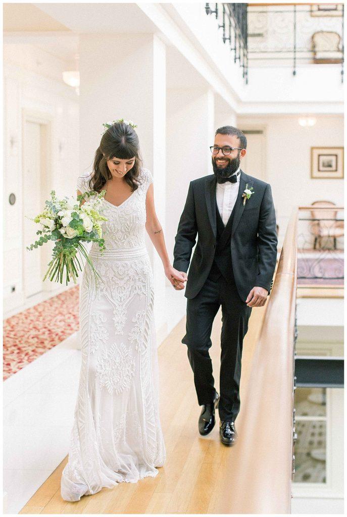 pinar cagri perapalacehotel weddingday 52 687x1024 - Pınar & Çagrı // Pera Palace Hotel Wedding Day