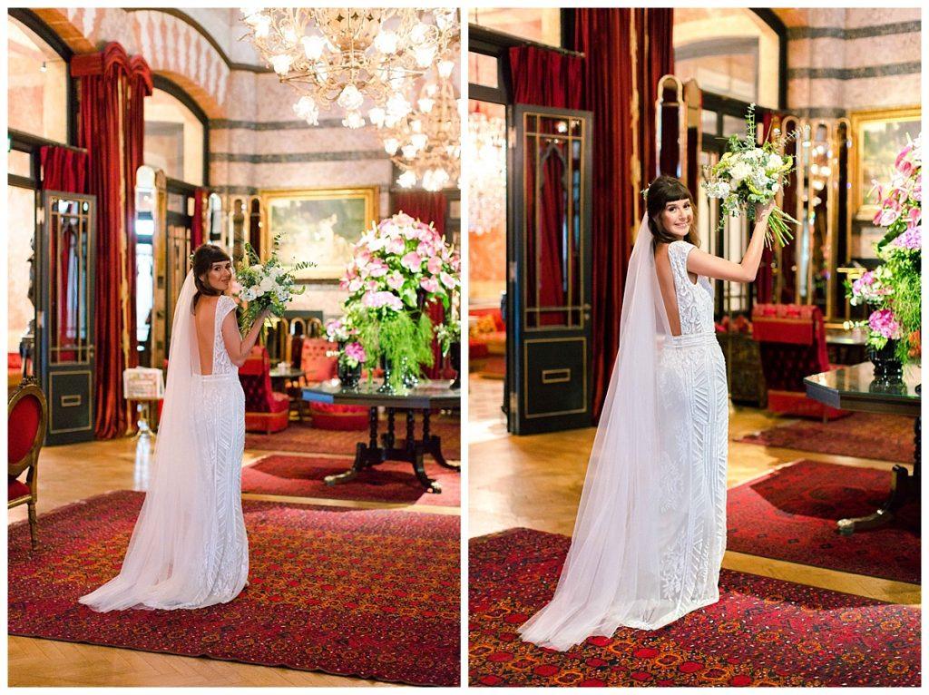 pinar cagri perapalacehotel weddingday 83 1024x766 - Pınar & Çagrı // Pera Palace Hotel Wedding Day