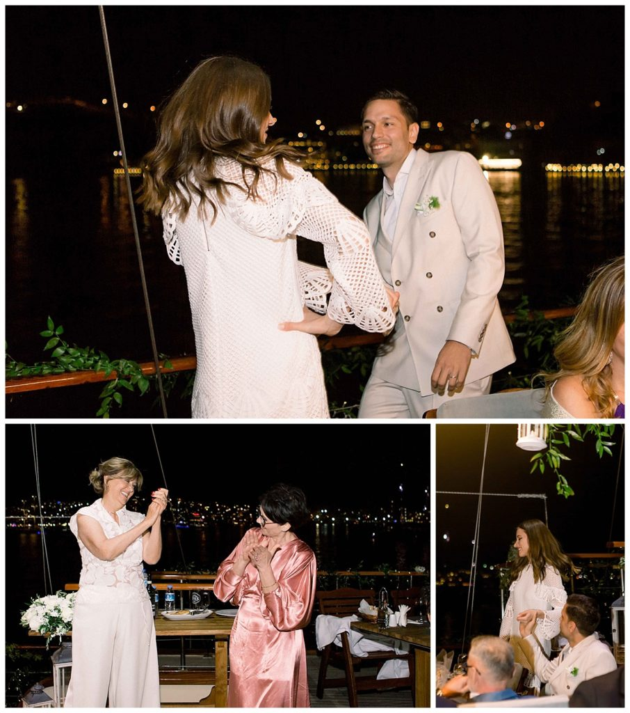 carlataylan bodrumweddings 114 906x1024 - Carla & Taylan // Yatch Wedding in Bodrum