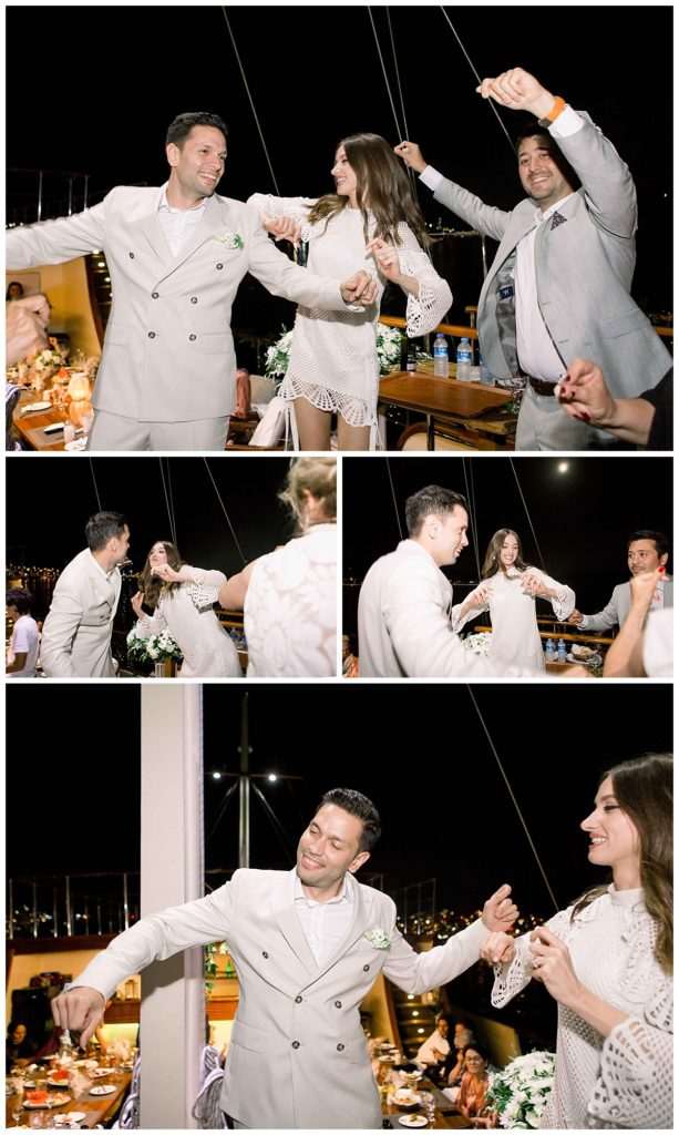 carlataylan bodrumweddings 116 613x1024 - Carla & Taylan // Yatch Wedding in Bodrum