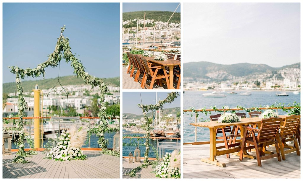 carlataylan bodrumweddings 14 1024x613 - Carla & Taylan // Yatch Wedding in Bodrum