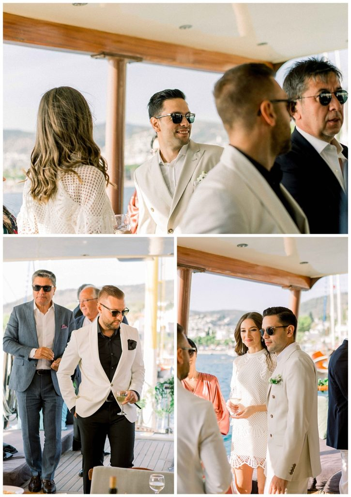 carlataylan bodrumweddings 16 725x1024 - Carla & Taylan // Yatch Wedding in Bodrum