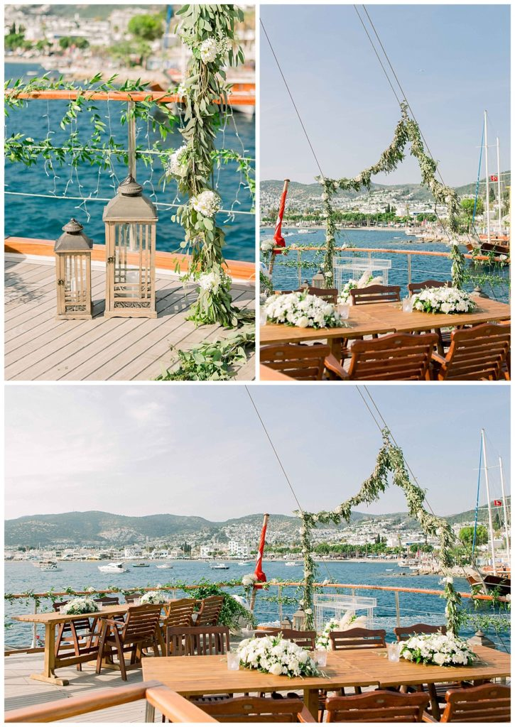 carlataylan bodrumweddings 23 725x1024 - Carla & Taylan // Yatch Wedding in Bodrum