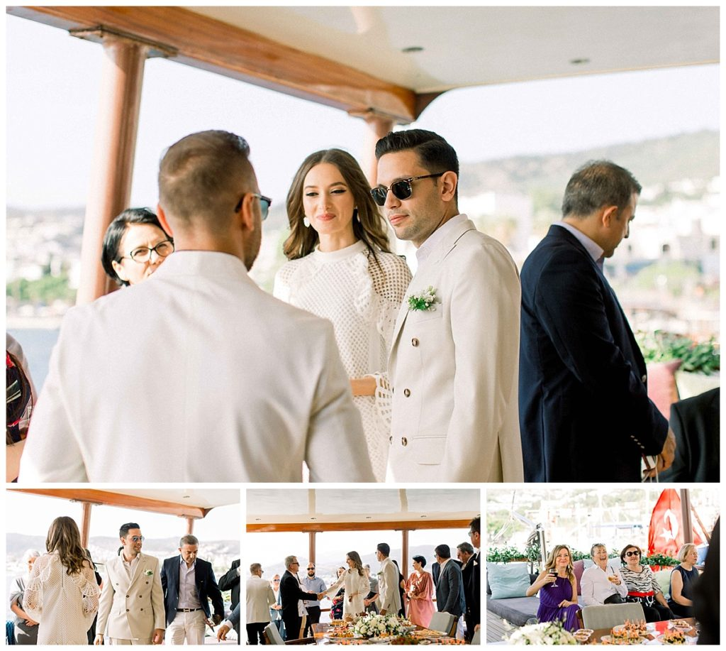 carlataylan bodrumweddings 3 1024x917 - Carla & Taylan // Yatch Wedding in Bodrum