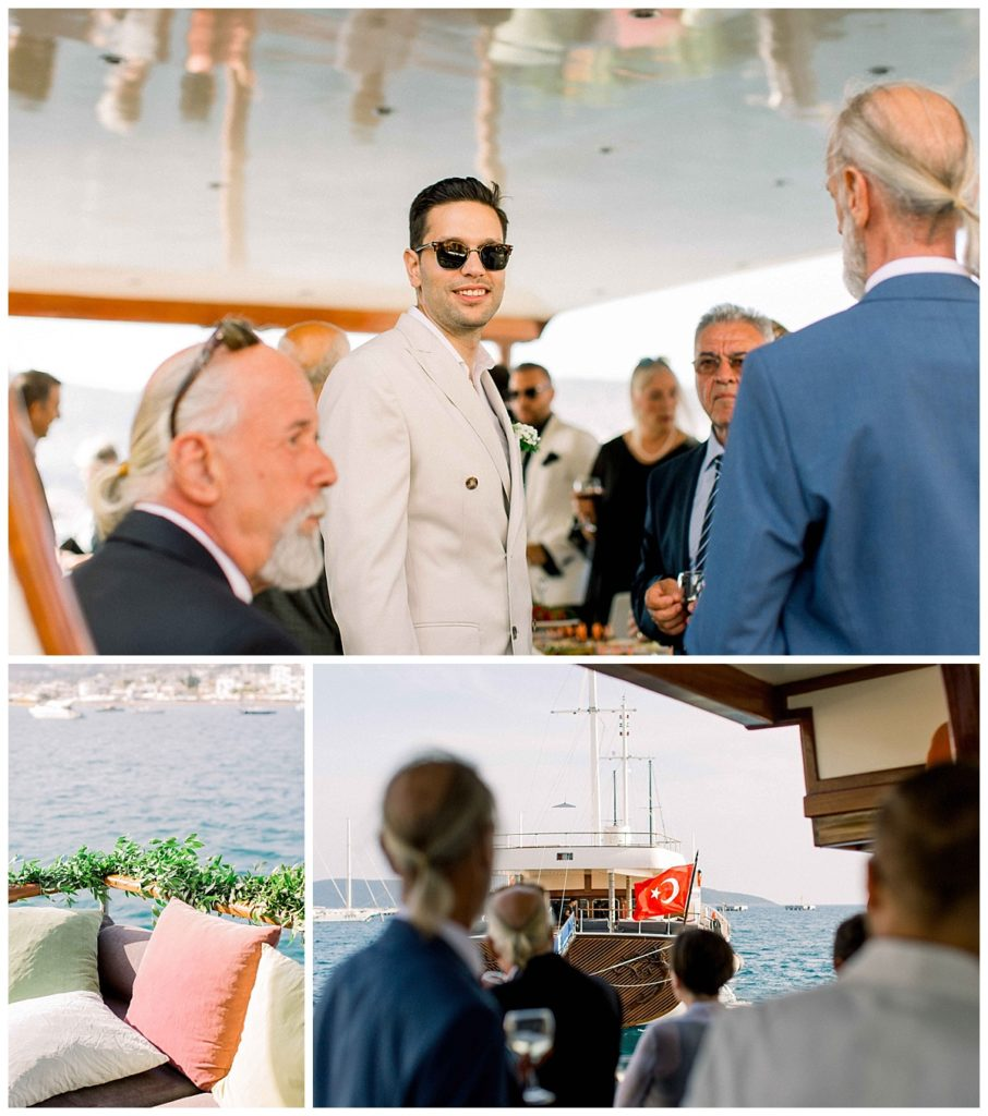 carlataylan bodrumweddings 4 906x1024 - Carla & Taylan // Yatch Wedding in Bodrum