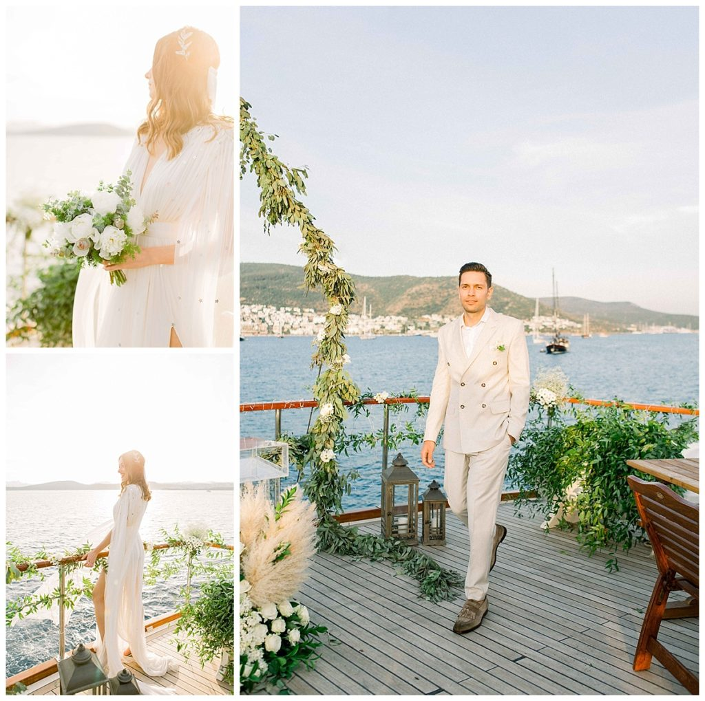 carlataylan bodrumweddings 45 1024x1019 - Carla & Taylan // Yatch Wedding in Bodrum
