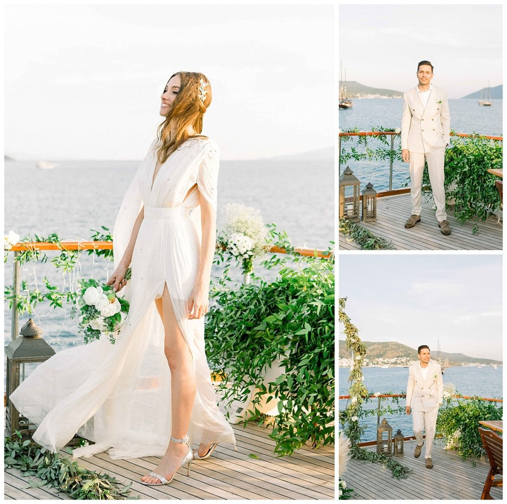 carlataylan bodrumweddings 58 1024x1018 - Carla & Taylan // Yatch Wedding in Bodrum