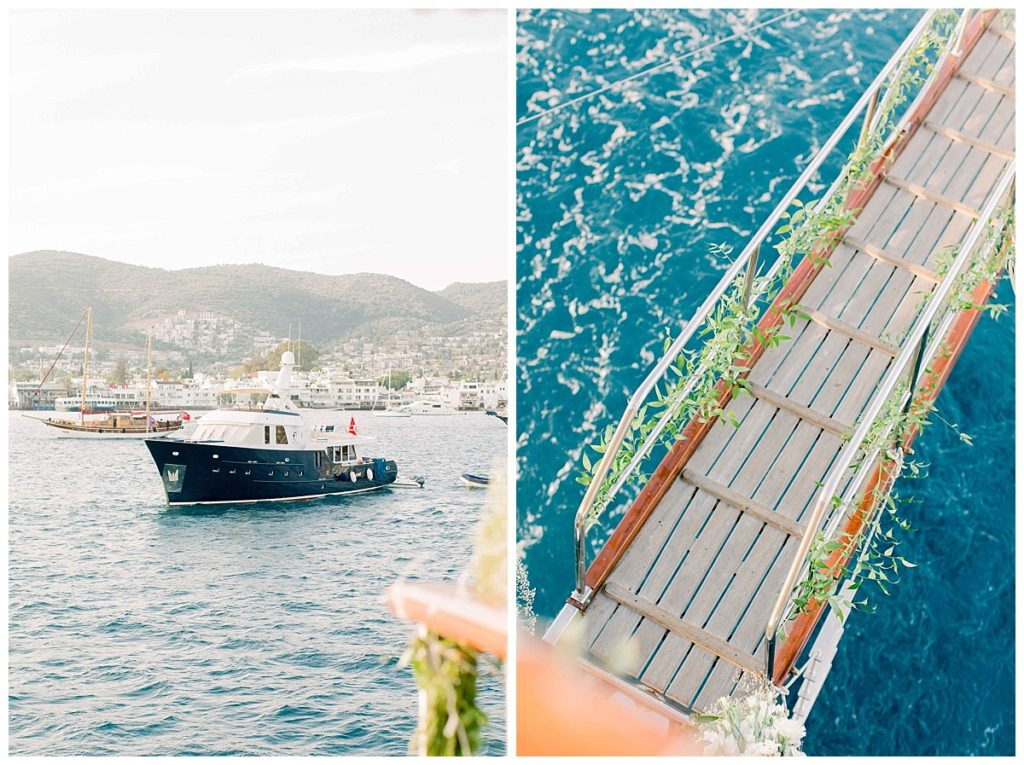 carlataylan bodrumweddings 6 1024x765 - Carla & Taylan // Yatch Wedding in Bodrum