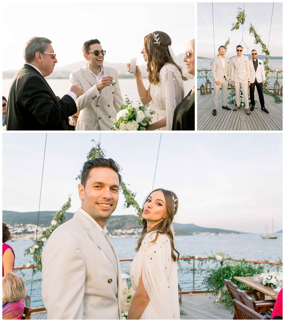carlataylan bodrumweddings 66 906x1024 - Carla & Taylan // Yatch Wedding in Bodrum