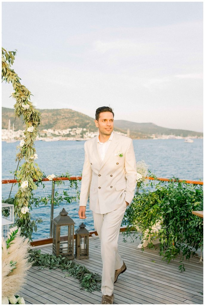 carlataylan bodrumweddings 67 687x1024 - Carla & Taylan // Yatch Wedding in Bodrum