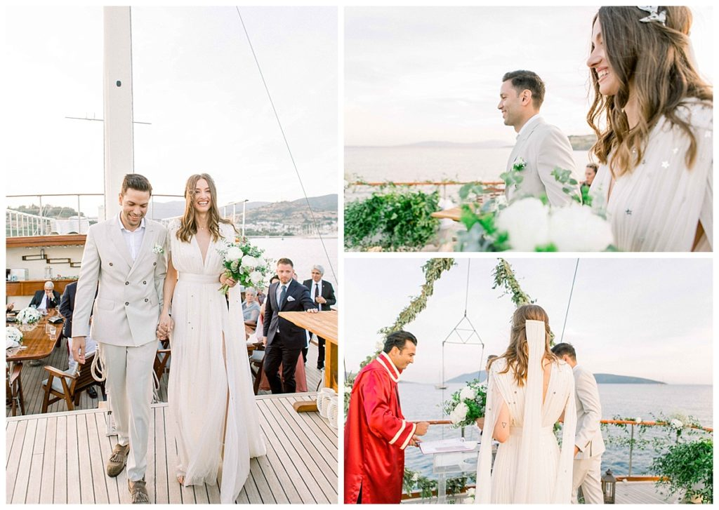 carlataylan bodrumweddings 69 1024x727 - Carla & Taylan // Yatch Wedding in Bodrum