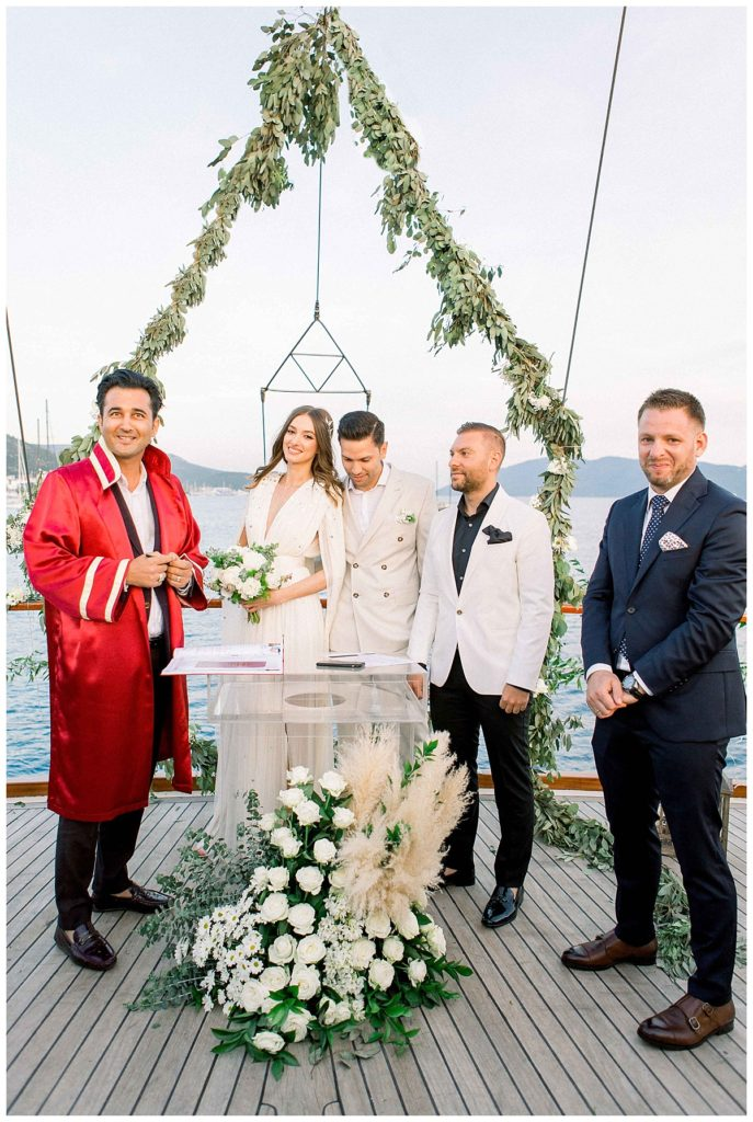 carlataylan bodrumweddings 70 687x1024 - Carla & Taylan // Yatch Wedding in Bodrum