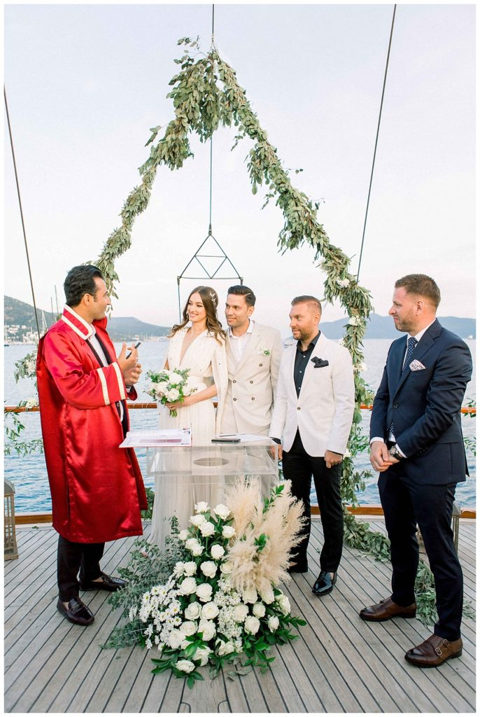 carlataylan bodrumweddings 71 686x1024 - Carla & Taylan // Yatch Wedding in Bodrum