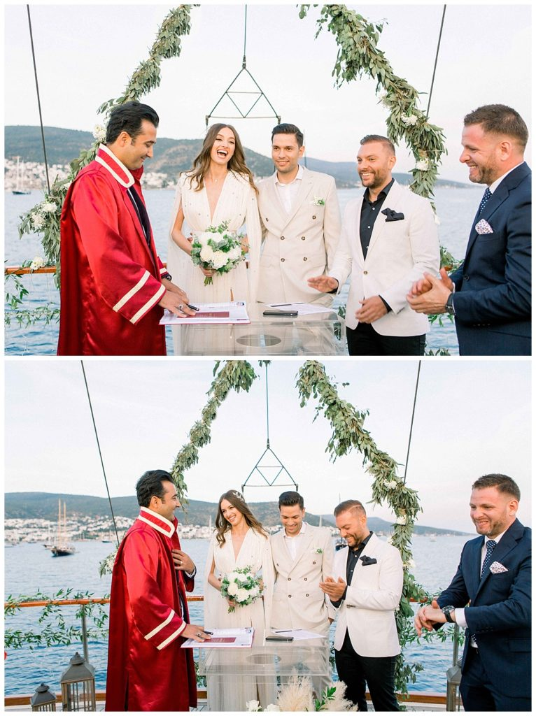carlataylan bodrumweddings 75 766x1024 - Carla & Taylan // Yatch Wedding in Bodrum