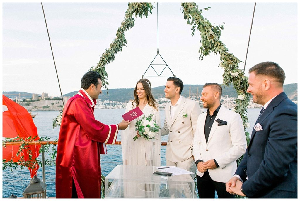 carlataylan bodrumweddings 76 1024x689 - Carla & Taylan // Yatch Wedding in Bodrum