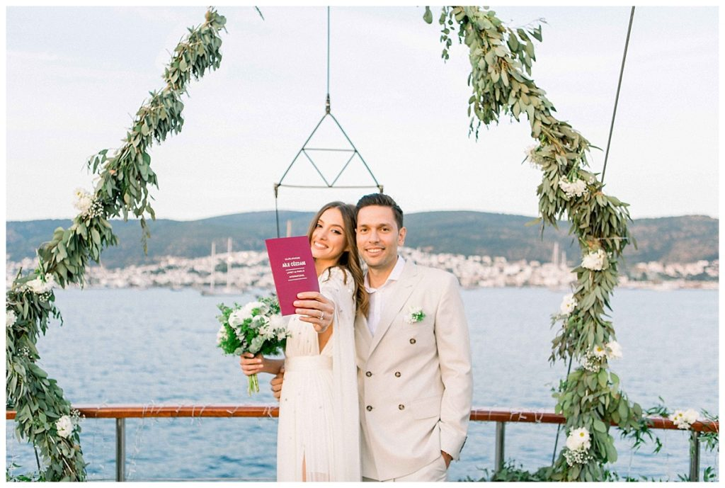 carlataylan bodrumweddings 78 1024x689 - Carla & Taylan // Yatch Wedding in Bodrum