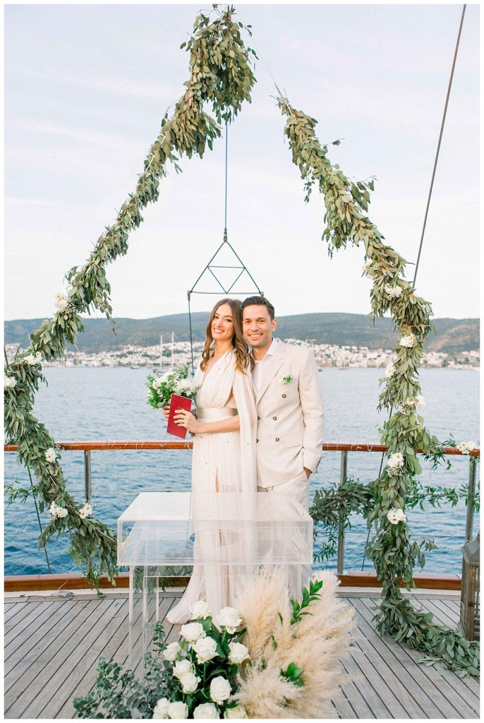 carlataylan bodrumweddings 79 686x1024 - Carla & Taylan // Yatch Wedding in Bodrum