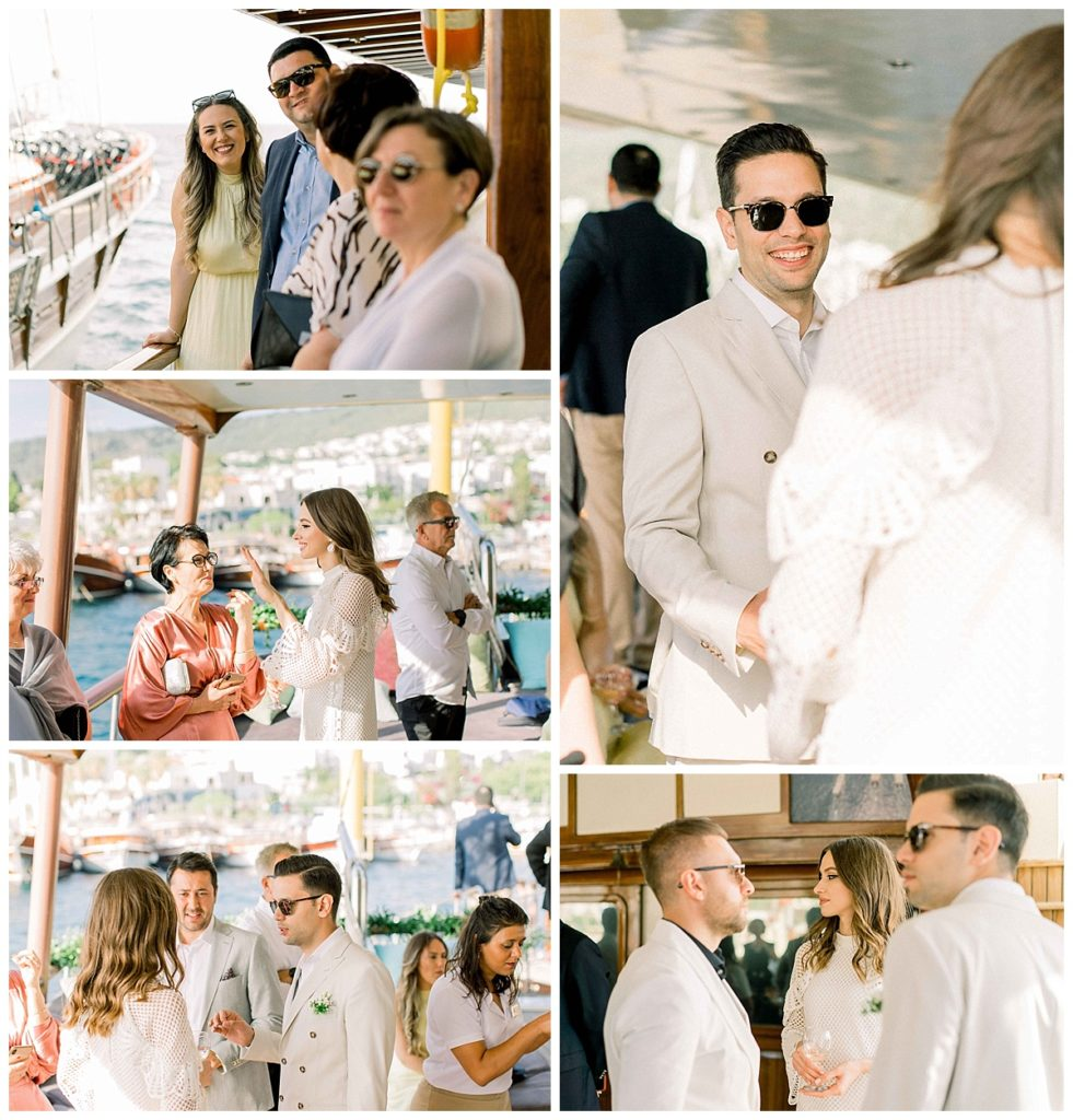 carlataylan bodrumweddings 8 981x1024 - Carla & Taylan // Yatch Wedding in Bodrum