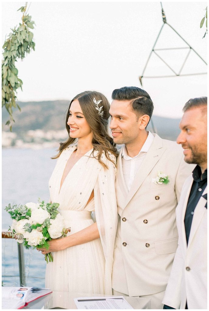 carlataylan bodrumweddings 81 688x1024 - Carla & Taylan // Yatch Wedding in Bodrum
