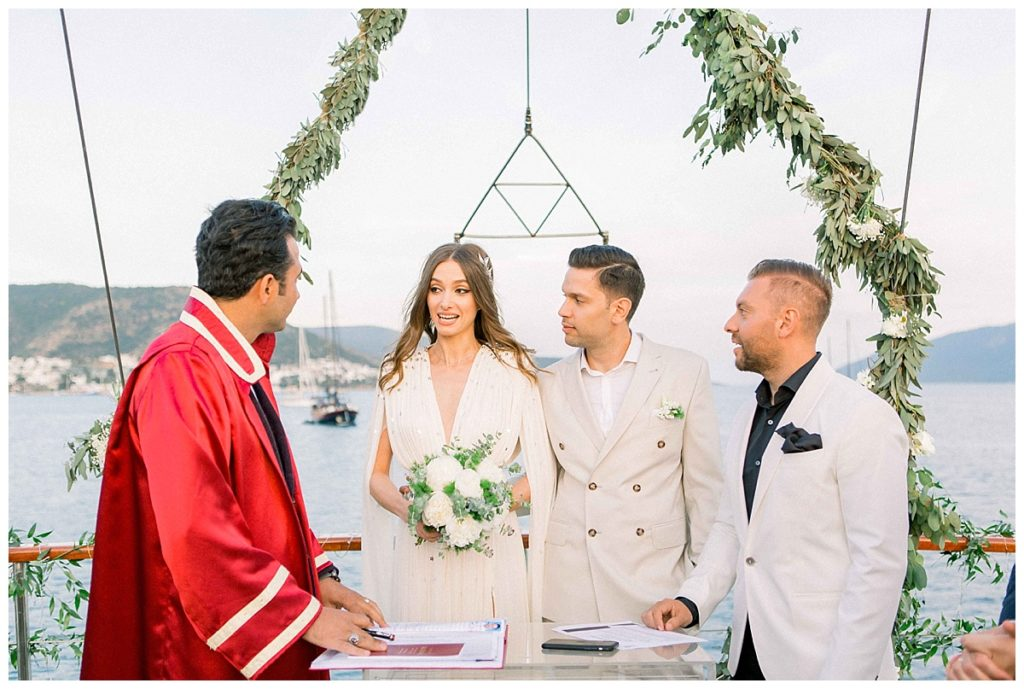 carlataylan bodrumweddings 89 1024x689 - Carla & Taylan // Yatch Wedding in Bodrum