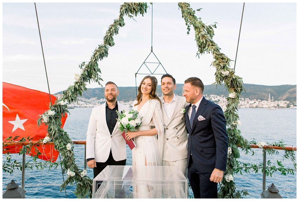 carlataylan bodrumweddings 91 1024x689 - Carla & Taylan // Yatch Wedding in Bodrum