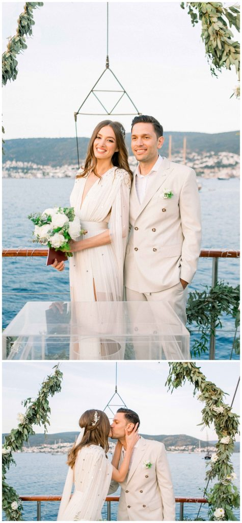 carlataylan bodrumweddings 94 475x1024 - Carla & Taylan // Yatch Wedding in Bodrum